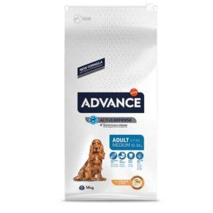 ADVANCE爱旺斯农场鲜鸡中型成年犬粮